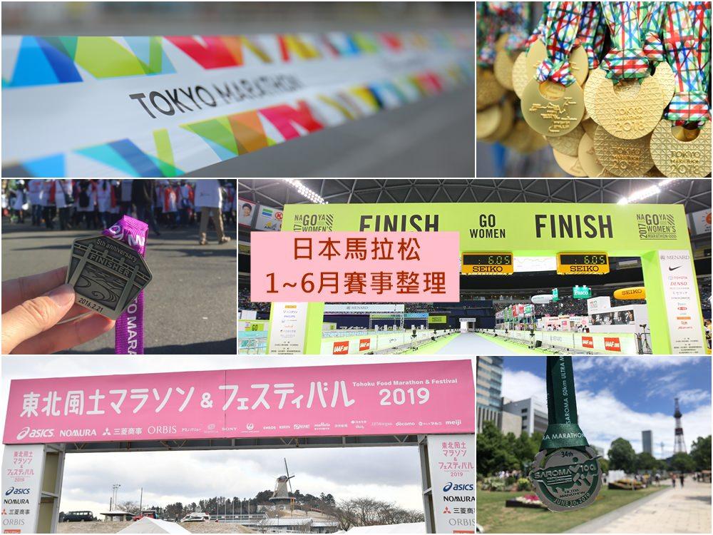 日本馬拉松賽事整理上半年(1~6月)